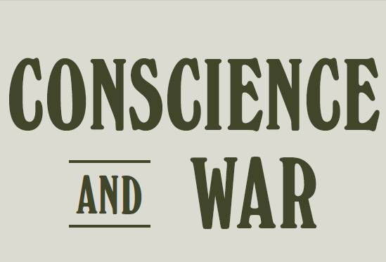Conscience and War exhibition