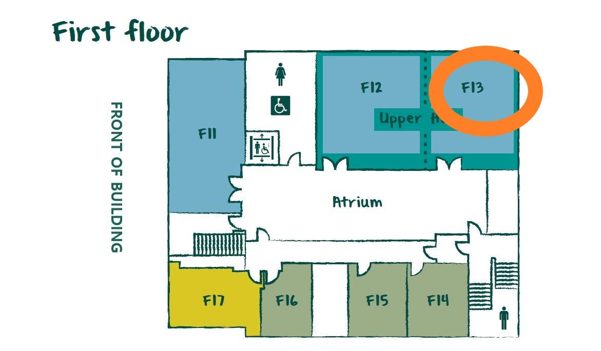 F13 Floor Plan First Floor